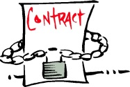 locked-into-contract