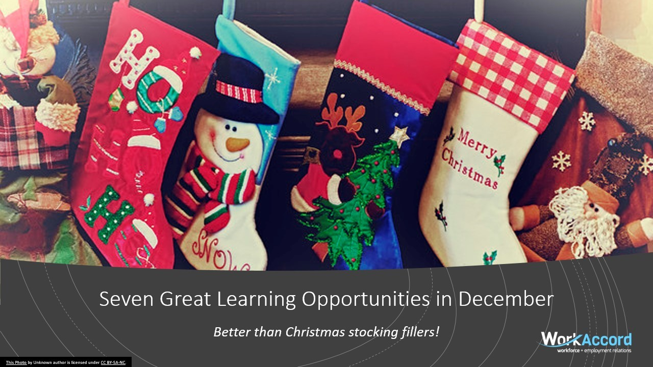 Christmas learning